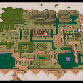 Wii U Virtual Console – The Legend of Zelda: A Link to the Past