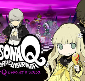 Persona Q: Shadow of the Labyrinth – Rei и Zen