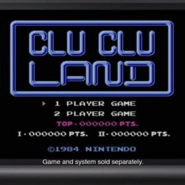 Clu Clu Land 3DS Virtual Console trailer