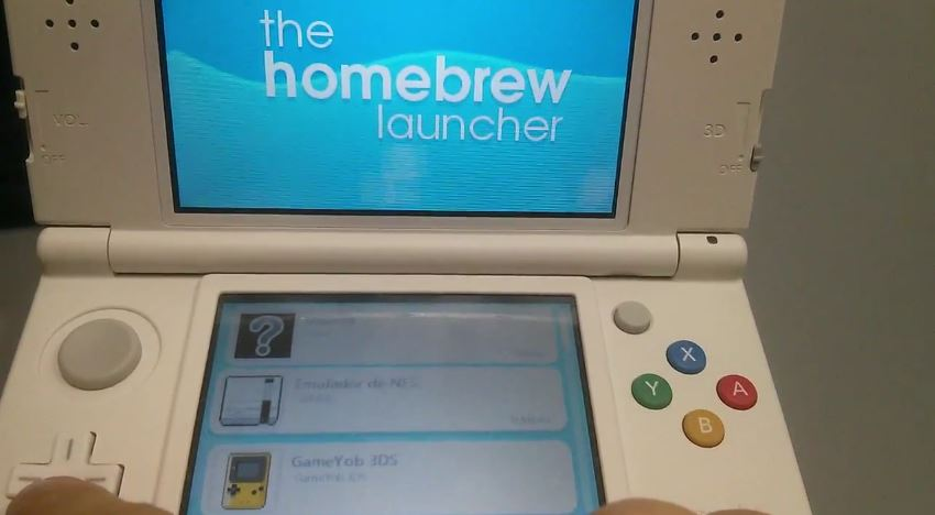 Homebrew 3DS