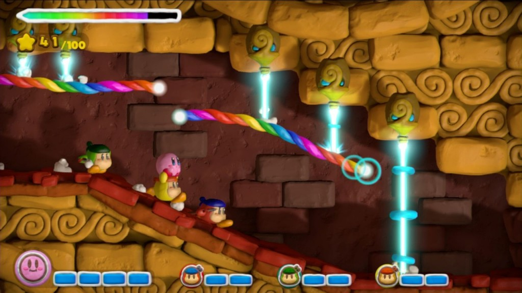 Kirby and the Rainbow Paintbrush Wii U 12