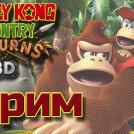 Donkey Kong Country Returns 3D 3DS-стрим