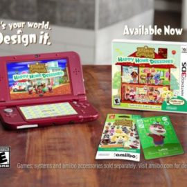 Реклама amiibo карточек Animal Crossing: Happy Home Designer
