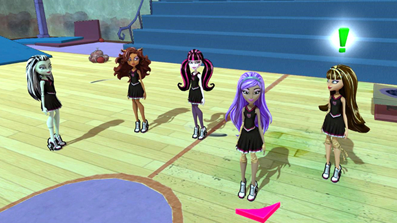 Monster High New Ghoul in School WUP_P_BMSP_MH-NGinS_Screenshot1_ALL