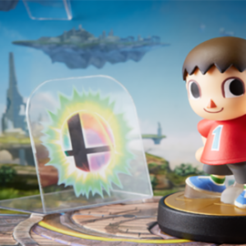 Диорама к amiibo серии Super Smash Bros.