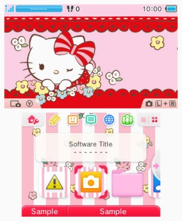 Hello Kitty during Spring