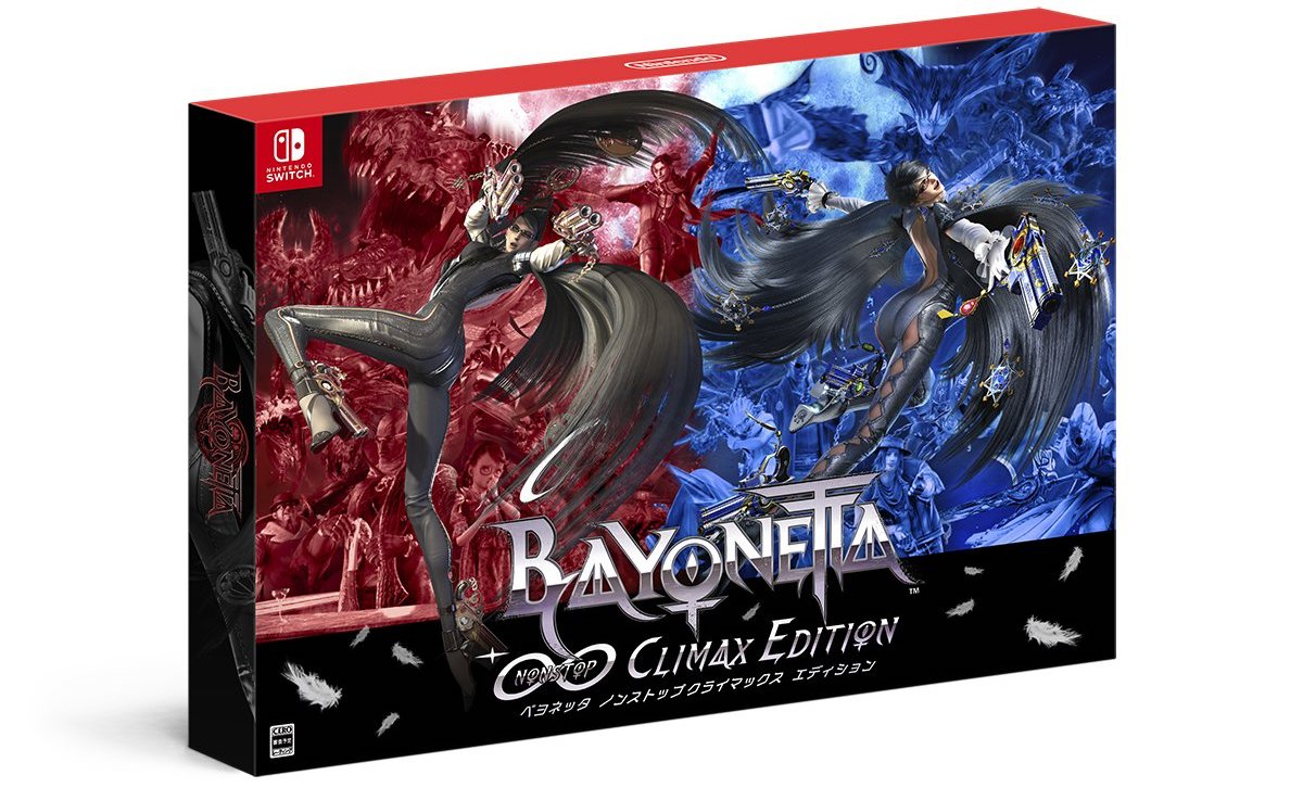 Bayonetta 1-2 Switch climax edition JP