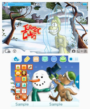 CI7_Nintendo3DS_Themes_WhiteXmasWithJurassicCubs_mediaplayer_large