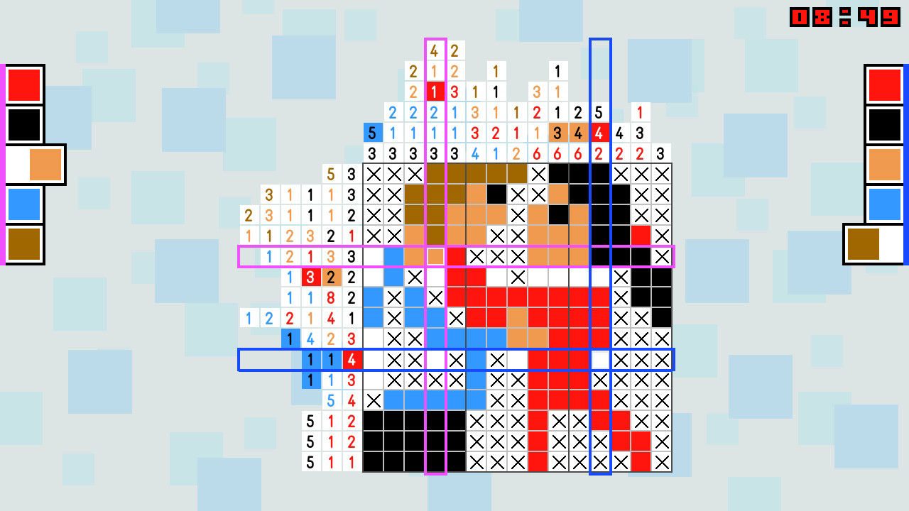 Pic-a-Pix Deluxe 4-Couple-2-Players