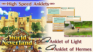 WorldNeverland - Elnea Kingdom High Speed Anklet Set