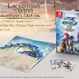 Изучаем состав Ys VIII: Lacrimosa Of DANA – Day One Adventurer's Edition вместе