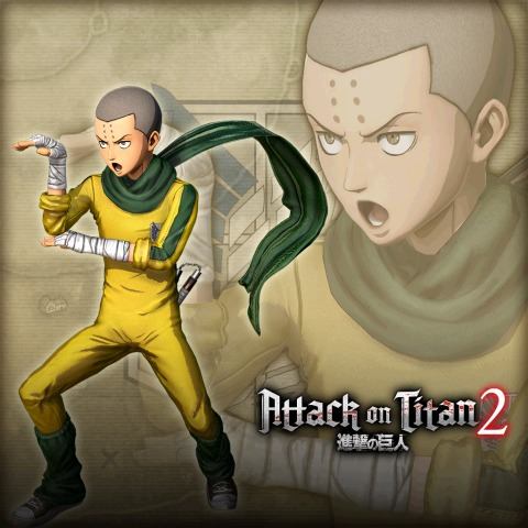 Attack on Titan 2- Conny 'Kung-Fu' Costume