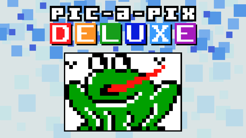 Giant Puzzles 1 Pic-a-Pix Deluxe