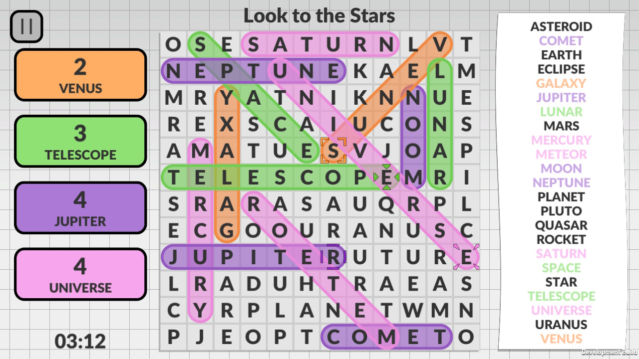 Word Search by POWGI 3_Stars_4_players