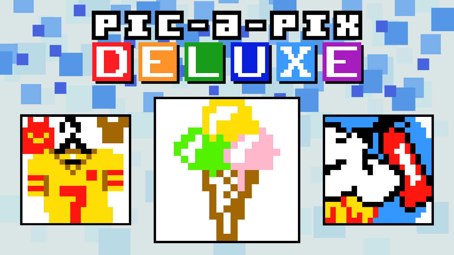 Pic-a-Pix Deluxe - Large Puzzles 5