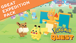 Great Expedition Pack Pokémon Quest