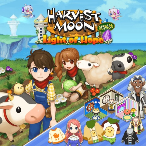 DLC 3 - Special Side-Stories Harvest Moon Light of Hope Special Edition)