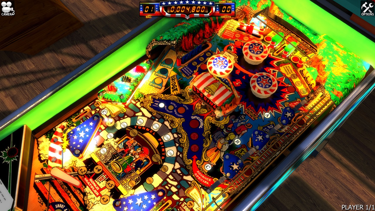 Locomotion Table Zaccaria Pinball