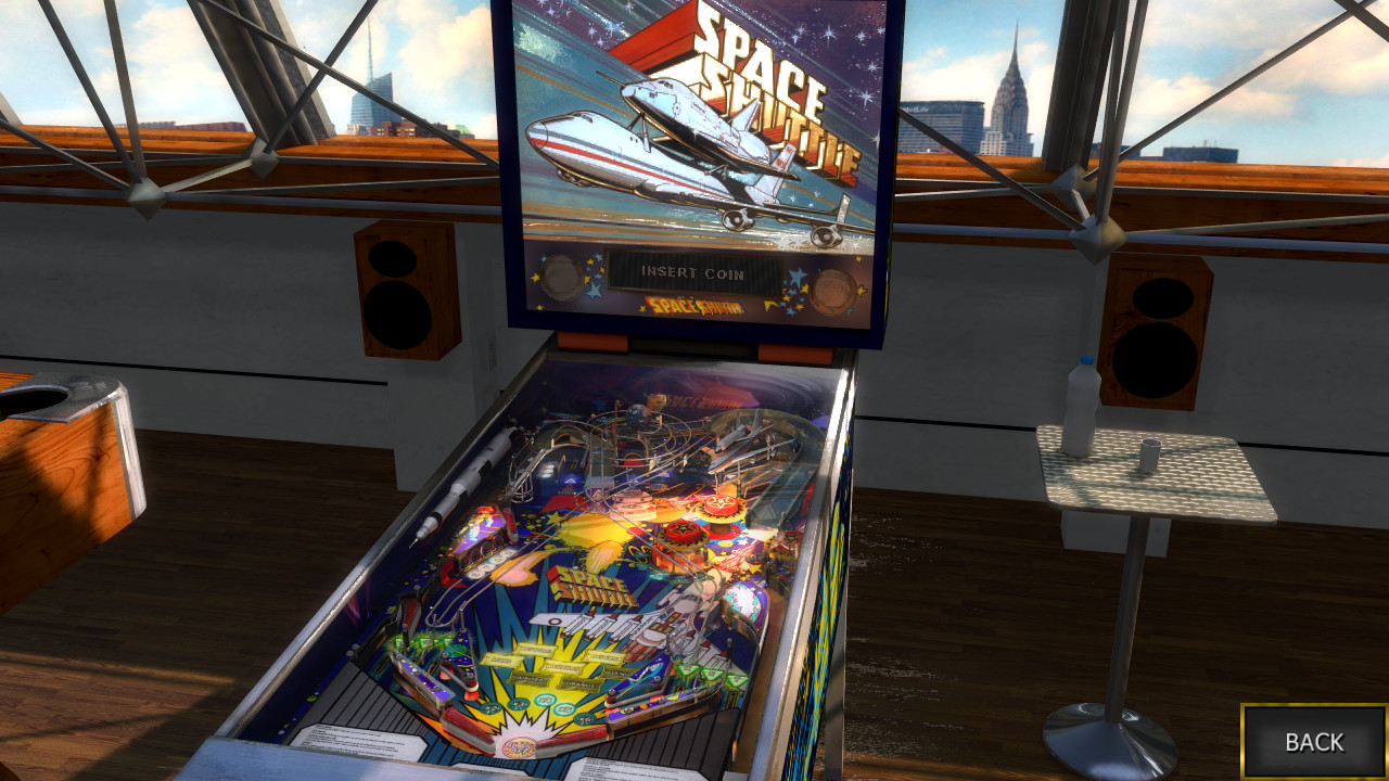 Space Shuttle 2016 Table Zaccaria Pinball