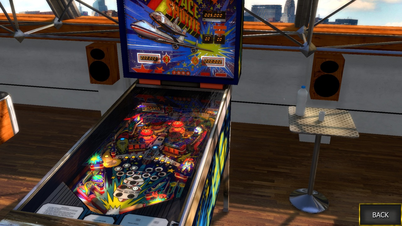 Space Shuttle Table Zaccaria Pinball