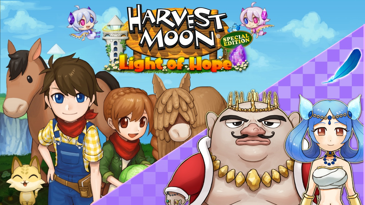DLC 4 - A Divine Marriage Harvest Moon Light of Hope Special Edition