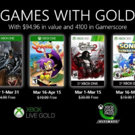 Подписчики Xbox Live Gold в марте получат второй сезон Batman: The Enemy Within‌, Shantae и Castlevania: Lords of Shadow 2