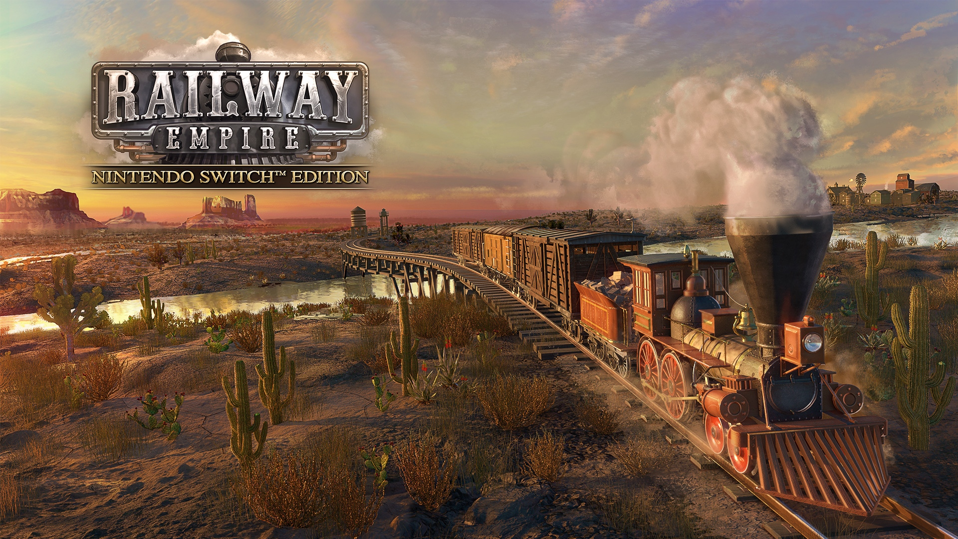 Railway Empire — Nintendo Switch Edition
